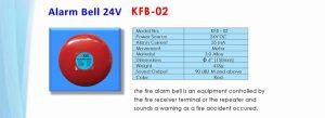 Alarm Bell 24V KFB-02