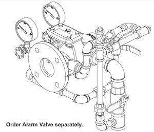 Alarm Check Valve Viking Horizontal Trim