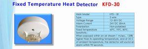 Fixed Temperature Heat Detector KFD-30