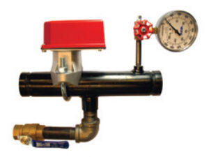 Floor Control Riser Assembly Basic- With Ball Valve