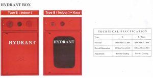 Hydrant Box Firesafe Type B Indoor