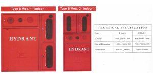 Hydrant Box Firesafe Type B Mod 1-2 Indoor