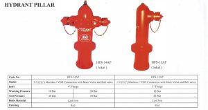 Hydrant Pillar Firesafe