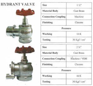 Hydrant Valve Firesafe