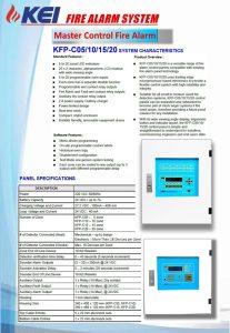 Master Control Fire Alarm KEI