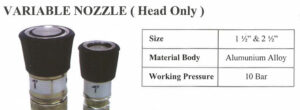 Firesafe Variable Nozzle Head Only
